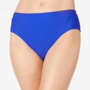 Island Escape Hipster Bikini Bottoms Blue 12